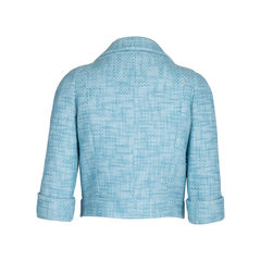 Chanel cropped tweed jacket fr 36 2?1542177208