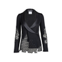 Authentic Pre Owned Chanel Silk Collar Crochet Cardigan (PSS-575-00011) - Thumbnail 0