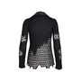 Authentic Pre Owned Chanel Silk Collar Crochet Cardigan (PSS-575-00011) - Thumbnail 1
