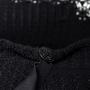 Authentic Second Hand Chanel Silk Collar Crochet Cardigan (PSS-575-00011) - Thumbnail 2