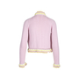 Authentic Pre Owned Chanel Pom Pom and Lace Cardigan (PSS-575-00015) - Thumbnail 1
