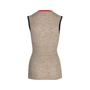 Authentic Pre Owned Chanel Sleeveless Ribbed Tunic Top (PSS-575-00017) - Thumbnail 1