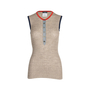 Authentic Pre Owned Chanel Sleeveless Ribbed Tunic Top (PSS-575-00017) - Thumbnail 0