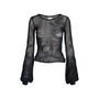 Authentic Pre Owned Chanel Balloon Sleeve Knit Top (PSS-575-00033) - Thumbnail 0