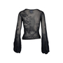 Authentic Pre Owned Chanel Balloon Sleeve Knit Top (PSS-575-00033) - Thumbnail 1