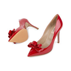 Valentino bow patent pumps 2?1542263252