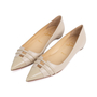 Authentic Second Hand Christian Louboutin Front Double Flats (PSS-566-00089) - Thumbnail 2