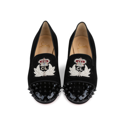 Authentic Second Hand Christian Louboutin Intern Flats (PSS-566-00111)