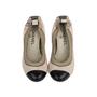 Authentic Second Hand Chanel Elastic Ballet Pumps (PSS-566-00114) - Thumbnail 0