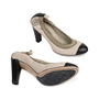 Authentic Second Hand Chanel Elastic Ballet Pumps (PSS-566-00114) - Thumbnail 2