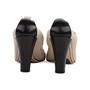 Authentic Second Hand Chanel Elastic Ballet Pumps (PSS-566-00114) - Thumbnail 5