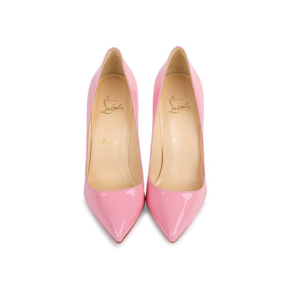 Authentic Pre Owned Christian Louboutin Baby Pink Pigalle 100 Pumps (PSS-566-00106)