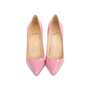 Authentic Pre Owned Christian Louboutin Baby Pink Pigalle 100 Pumps (PSS-566-00106) - Thumbnail 0