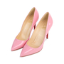 Authentic Pre Owned Christian Louboutin Baby Pink Pigalle 100 Pumps (PSS-566-00106) - Thumbnail 3