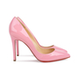 Authentic Pre Owned Christian Louboutin Baby Pink Pigalle 100 Pumps (PSS-566-00106) - Thumbnail 4