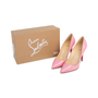 Authentic Pre Owned Christian Louboutin Baby Pink Pigalle 100 Pumps (PSS-566-00106) - Thumbnail 6