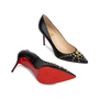 Authentic Second Hand Christian Louboutin Door Knock 85 Pumps (PSS-566-00107) - Thumbnail 2