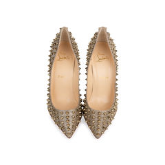 Follies Spikes Glitter Pumps