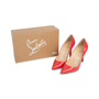 Authentic Second Hand Christian Louboutin Framboisine Pigalle 100 Pumps (PSS-566-00113) - Thumbnail 6