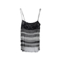 Authentic Second Hand Chanel Tiered Mesh Tank Top (PSS-575-00008) - Thumbnail 0
