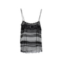 Authentic Second Hand Chanel Tiered Mesh Tank Top (PSS-575-00008) - Thumbnail 1