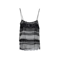 Chanel tiered mesh tank top 2?1542267513