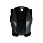 Authentic Second Hand Chanel Rabbit Fur Cropped Vest (PSS-575-00010) - Thumbnail 0