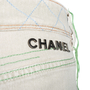 Authentic Second Hand Chanel Multicoloured Stitched  Jeans (PSS-575-00029) - Thumbnail 2