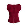 Authentic Pre Owned Chanel Off-Shoulder Knit Top (PSS-575-00007) - Thumbnail 1