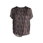 Authentic Pre Owned Theyskens' Theory Printed Silk Top (PSS-148-00043) - Thumbnail 0