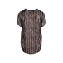 Authentic Pre Owned Theyskens' Theory Printed Silk Top (PSS-148-00043) - Thumbnail 1