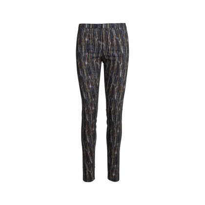 Authentic Pre Owned Theyskens' Theory Printed Pants (PSS-148-00044)