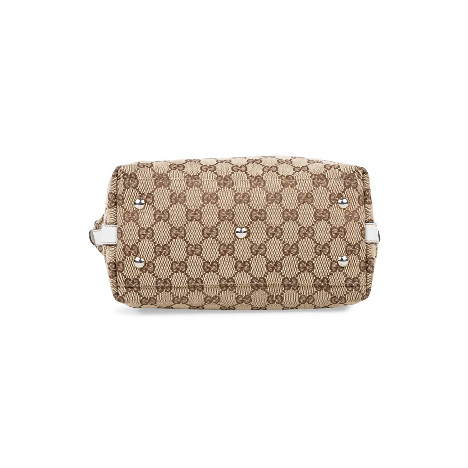 0ccf60b0849 ... Authentic Second Hand Gucci Vertical Monogram Tote (PSS-581-00003) -  Thumbnail ...