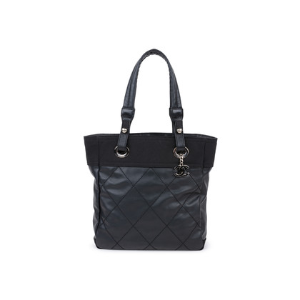 Authentic Pre Owned Chanel Paris-Biarritz Vertical Tote (PSS-581-00007)