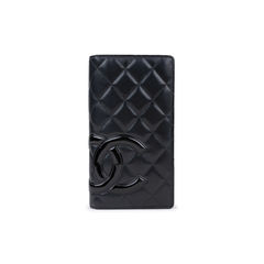 Quilted Cambon Porte  Yen Wallet