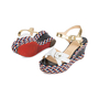 Authentic Pre Owned Christian Louboutin Laoga 70 Wedge Sandals (PSS-566-00078) - Thumbnail 2