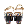 Authentic Pre Owned Christian Louboutin Laoga 70 Wedge Sandals (PSS-566-00078) - Thumbnail 5