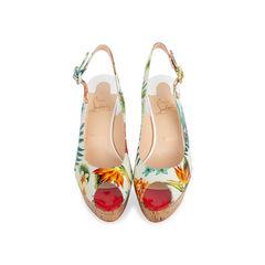 Une Plume Hawaii Slingback Sandals