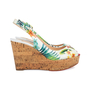 Authentic Second Hand Christian Louboutin Une Plume Hawaii Slingback Sandals (PSS-566-00108) - Thumbnail 4