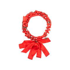 Lanvin chain ribbon pearl necklace 2?1542697057