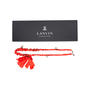 Authentic Second Hand Lanvin Chain Ribbon Pearl Necklace (PSS-136-00044) - Thumbnail 5