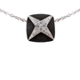 Authentic Pre Owned Mauboussin Snakewood and Diamond Star necklace (PSS-136-00046) - Thumbnail 2