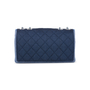 Authentic Pre Owned Chanel Denim Flap Bag with Chanel Charm (PSS-136-00047) - Thumbnail 2