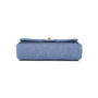 Authentic Pre Owned Chanel Denim Flap Bag with Chanel Charm (PSS-136-00047) - Thumbnail 3