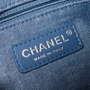 Authentic Pre Owned Chanel Denim Flap Bag with Chanel Charm (PSS-136-00047) - Thumbnail 7
