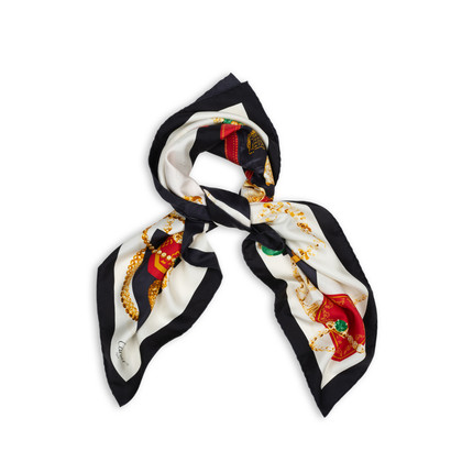Authentic Second Hand Cartier Jewellery Printed Scarf (PSS-434-00017)