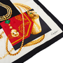 Authentic Second Hand Cartier Jewellery Printed Scarf (PSS-434-00017) - Thumbnail 5