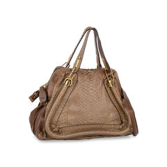 Chloe medium snakeskin and leather paraty 2?1543214894