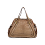 Authentic Second Hand Chloé Medium Snakeskin and Leather Paraty (PSS-580-00003) - Thumbnail 2