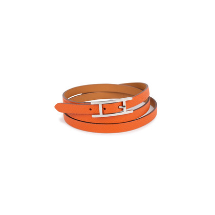 Authentic Second Hand Hermès Hapi 3 Quad Tour Bracelet (PSS-580-00005)